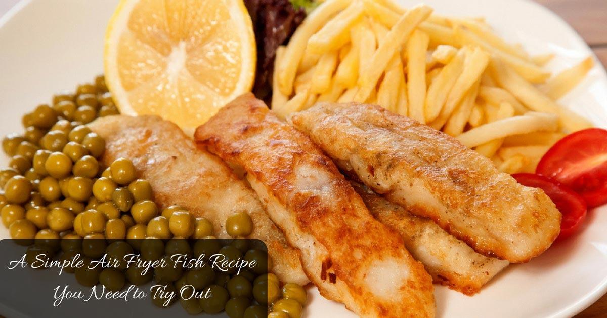 Air Fryer Fish Recipe